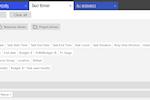 Ganttic Screenshot: Ganttic's report builder for custom two-level reports.