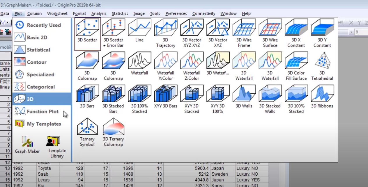 OriginPro Software - OriginPro graogh maker