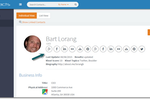 BigContacts screenshot: Automatically update social profile information using over 100 different sources