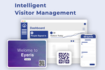 TimeCloud Visitor Management Screenshot: