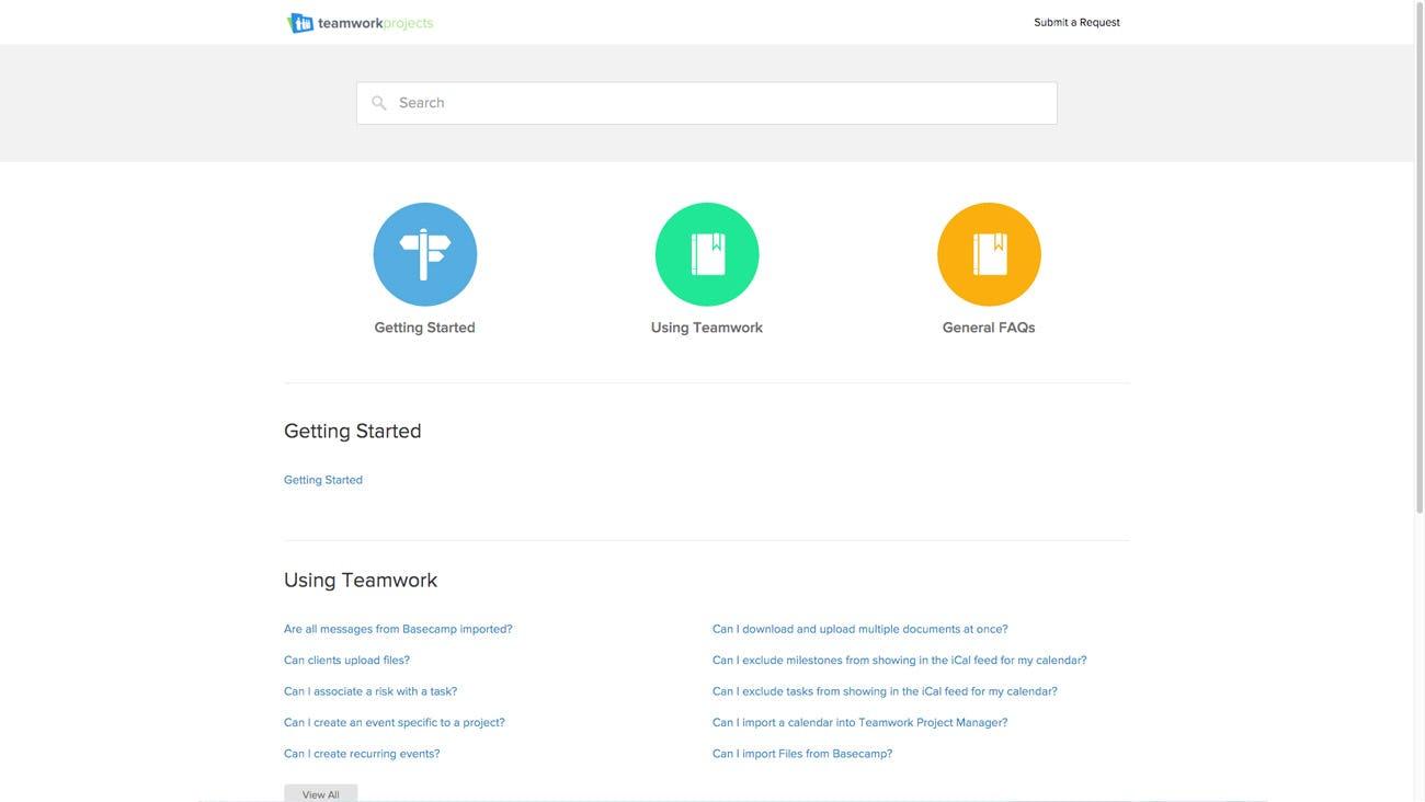 Teamwork Software - Teamwork getting started