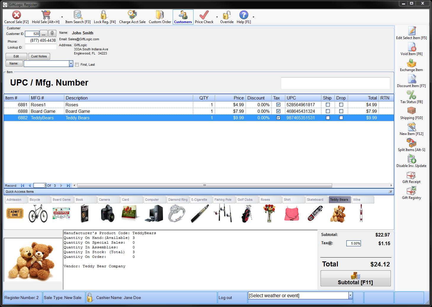 GiftLogic Software - 1