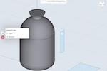 Shapr3D screenshot: Shapr3D project tool