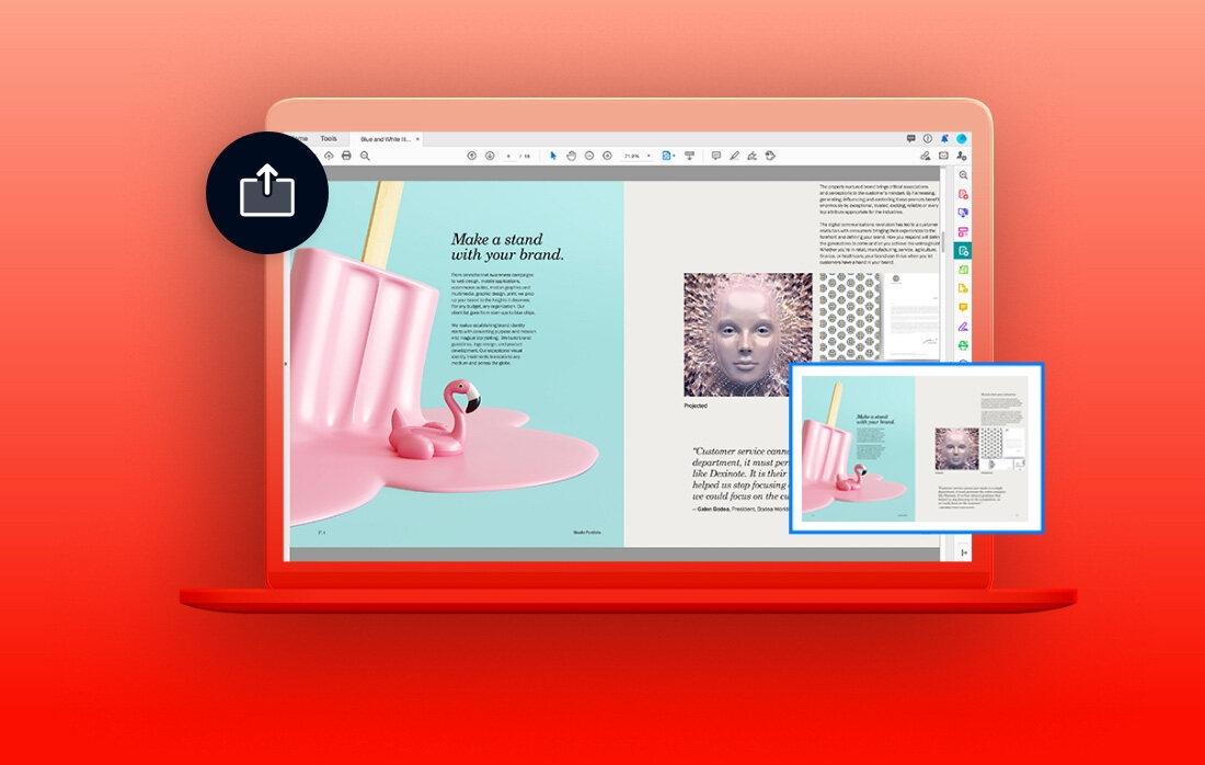 Adobe Acrobat DC - document review