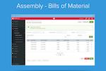 Captura de pantalla de Unleashed: Assembly Bill of Materials
