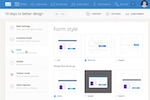 ConvertKit screenshot: ConvertKit allows users to create opt-in forms in a range of styles, including inline and slide in forms