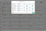 Intelligent Operations Platform screenshot: Automate your work at the click of a button with easy drag 'n' drop planning and scheduling