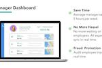 Everlance screenshot: Custom Manager Dashboard