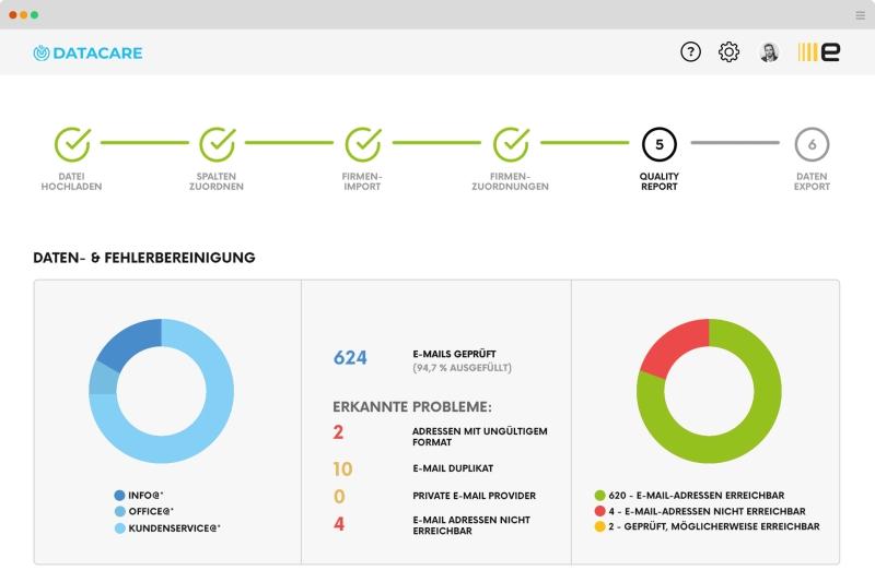 Echobot datacare screenshot