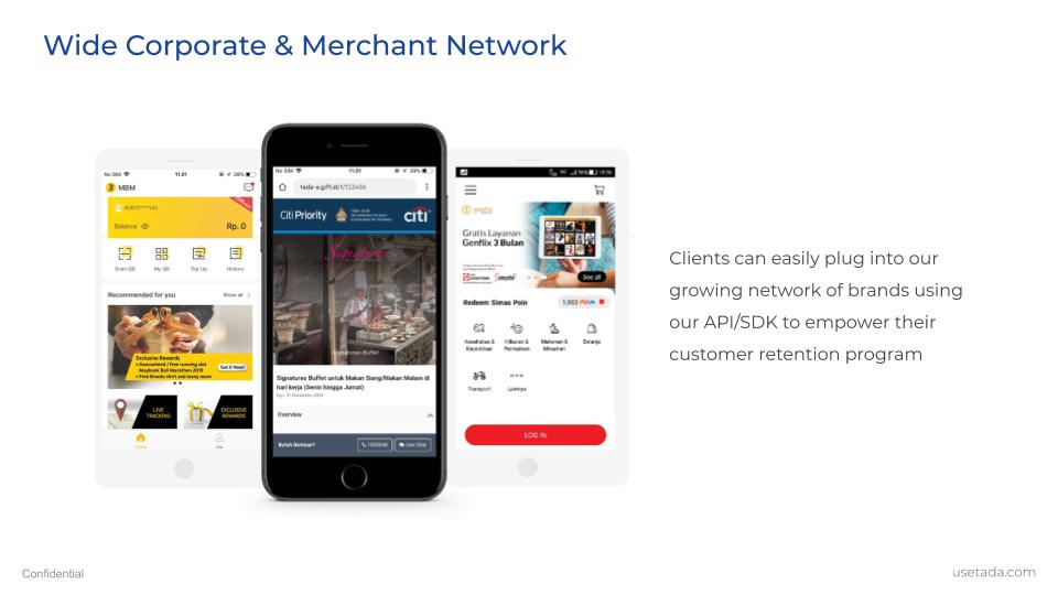 Wide Corporate & Merchant Network