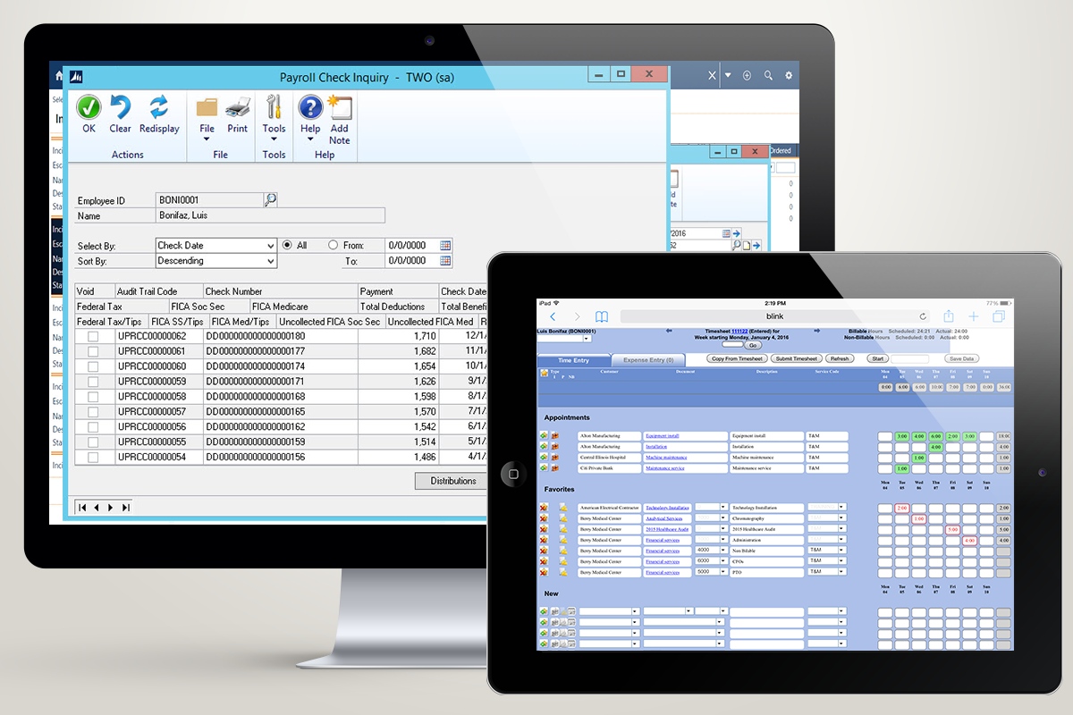 Submit and approve timesheets or expenses at any time and from anywhere