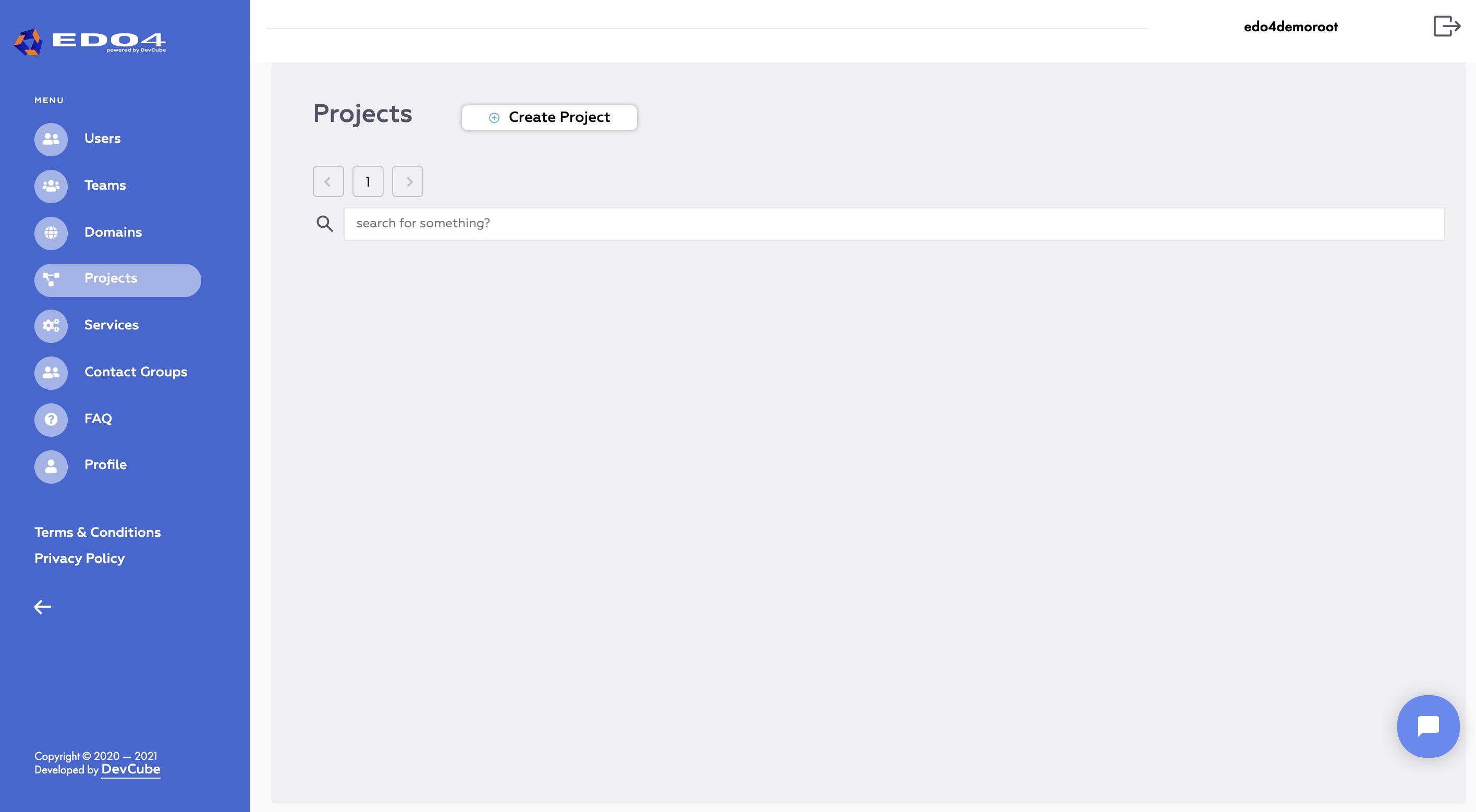 EDO4 user interface