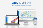Abivin vRoute screenshot: Abivin vRoute's system consists of two parts: a Web application for Manager/Supervisor and a Mobile application for Deliverymen/Field staff.