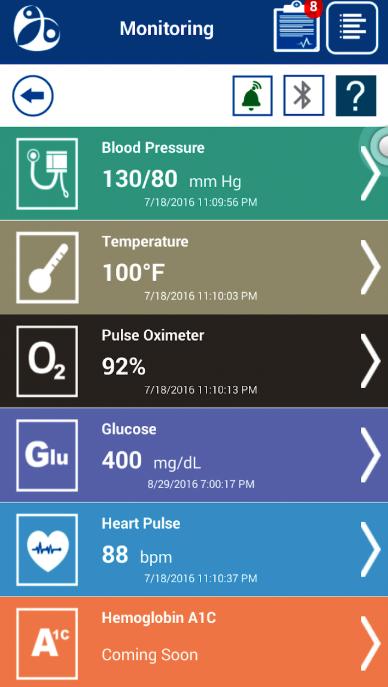 HealthKOS patient monitoring