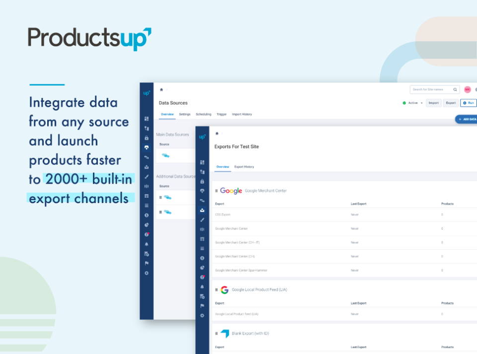 Productsup Software - 4