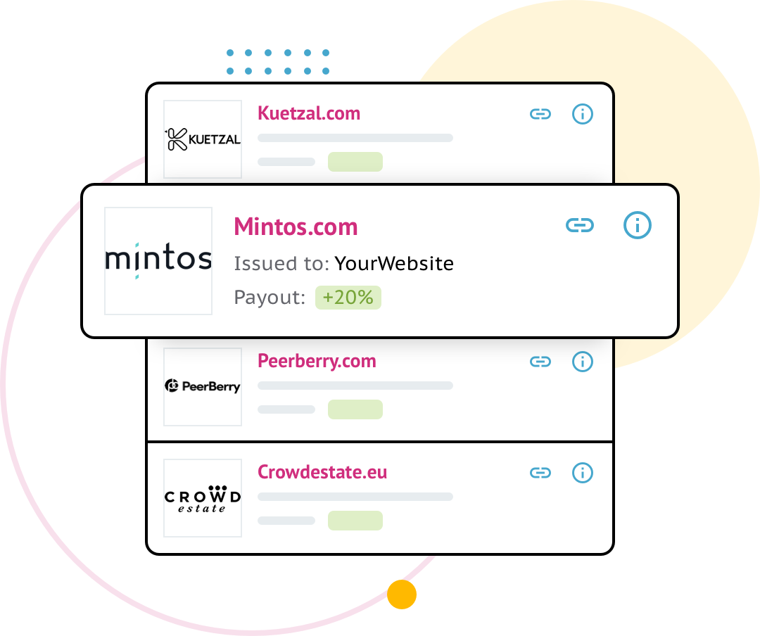 Circlewise payouts