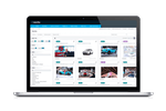 Wedia screenshot: Manage, share and repurpose all digital assets including photos, logos, videos, from a single platform