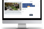 The Flybook screenshot: Fully configurable lodging features include the taking of online bookings around flexible, calendar-based pricing options, alongside upselling tools and housekeeping reports