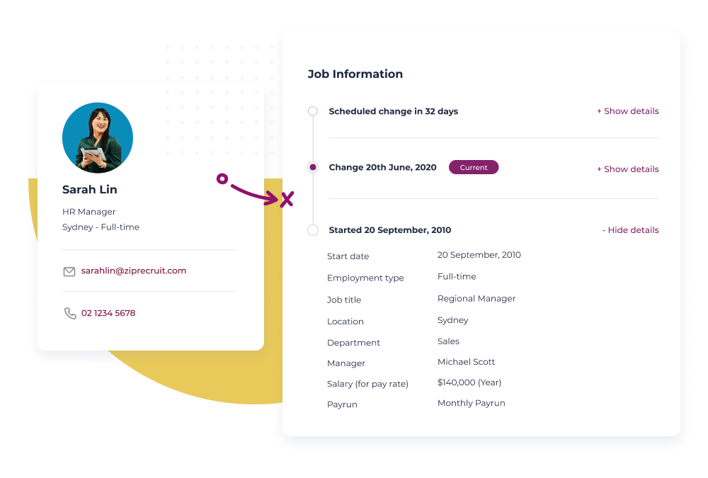 Worknice Software - Scale your HR with Employee profiles - organise and track critical data