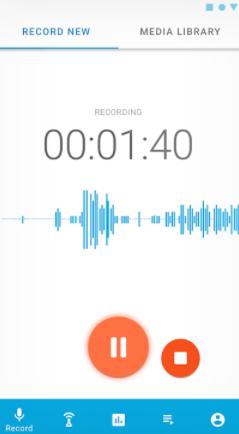 Podomatic audio capture