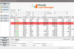 Margill Loan Manager screenshot: Margill Loan Manager dashboard screenshot