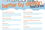 MaxContact screenshot: Better by Design