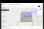 GroundCloud screenshot: GroundCloud priority zones