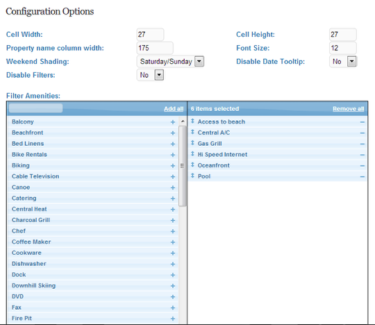 Users can add multiple add-ons to their properties in Lodgix, with both chargeable and complementary options