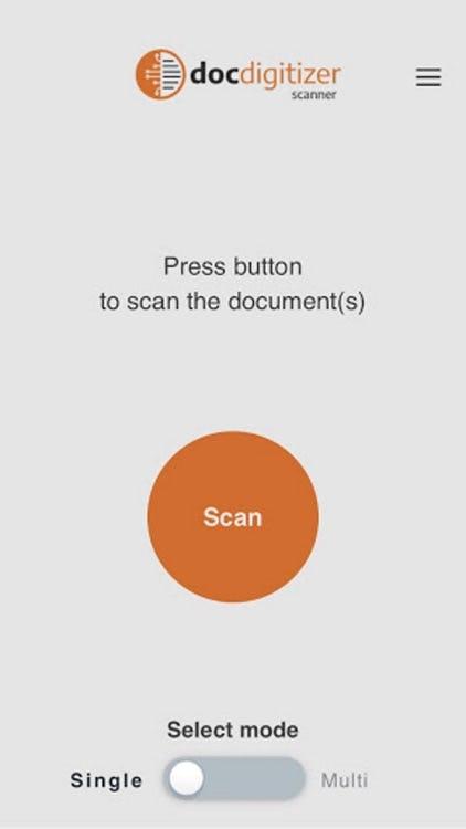 DocDigitizer Software - DocDigitizer scan documents