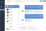 Modento screenshot: Modento patient chat