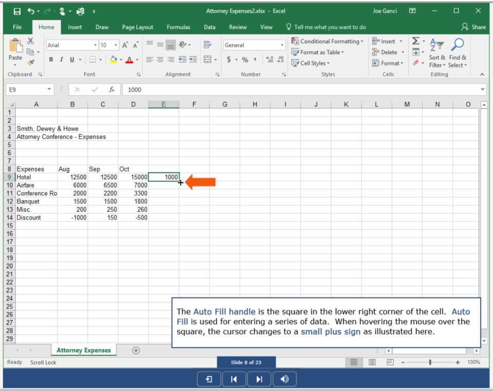 TutorPro eLearning Courseware Software - Application Simulation