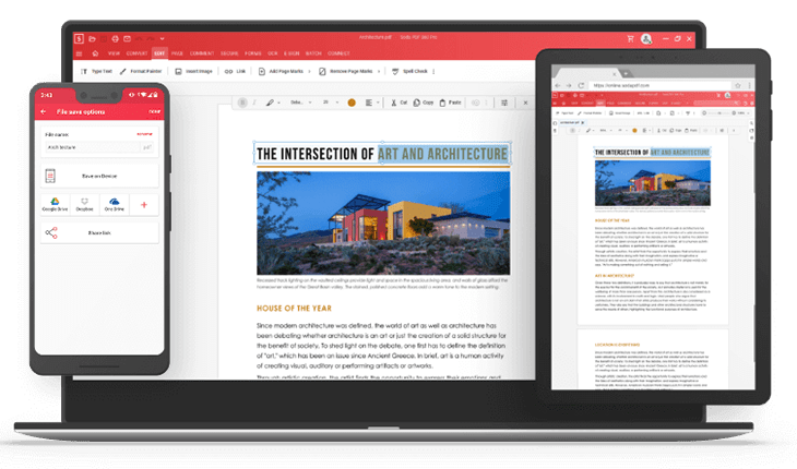 Soda PDF - multiple device access