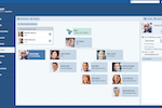 Pipeliner CRM screenshot: org chart