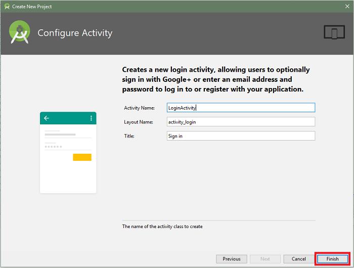 PixelPin activity configuration screenshot