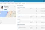 Oktopost screenshot: Social Lead Page