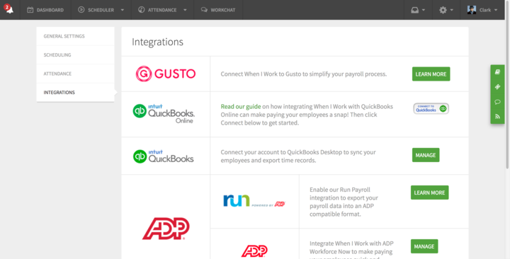 We currently offer seamless integrations with these platforms.