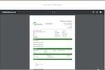 FieldAx screenshot: Job Report/Sheet
