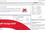 ADP Vantage HCM screenshot: ADPVantageHCM_HumanResource_Home
