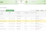 actiPLANS screenshot: corporate-schedule-requests