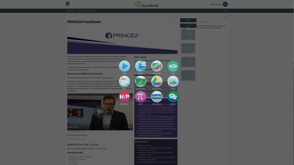 Eurekos Software - Authoring Tools | Eurekos