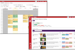 Blink Session screenshot: With Blink Session users can view schedules, arrange appointments, and access a full resource catalog