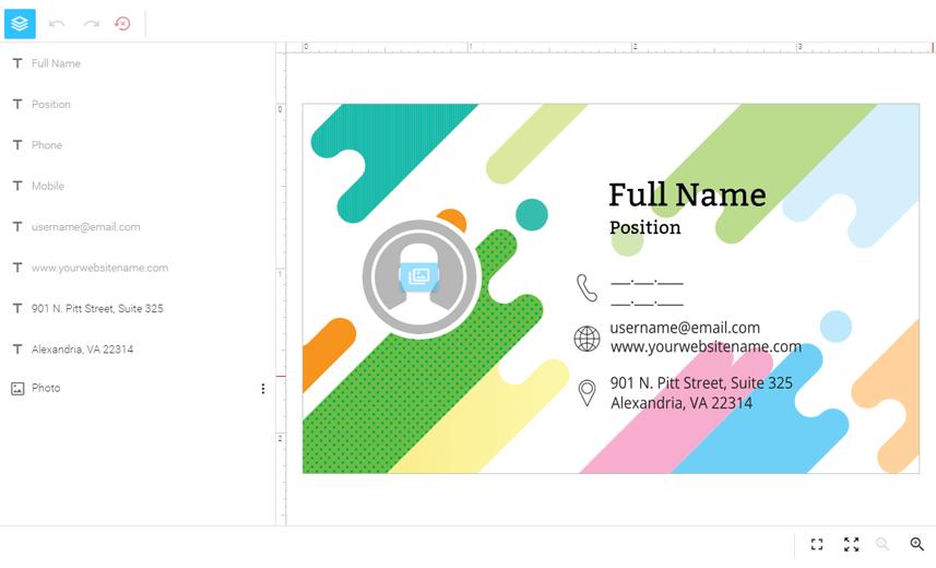 Customer's Canvas screenshot: Customer's Canvas WYSIWYG editor
