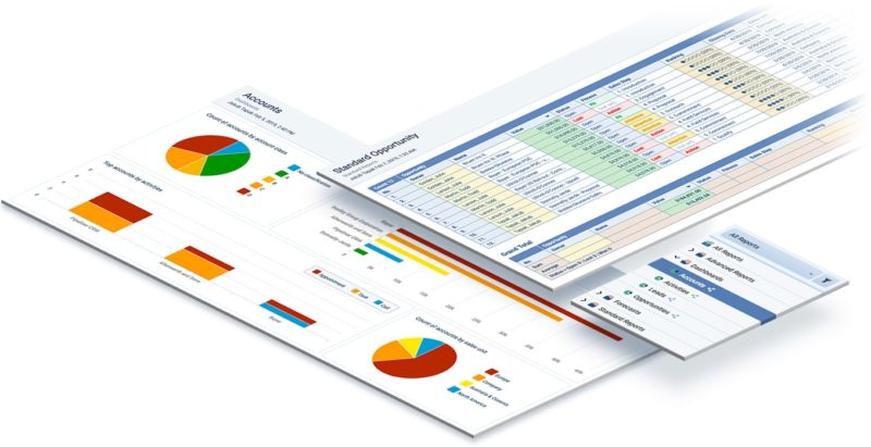Pipeliner CRM Software - Robust reporting