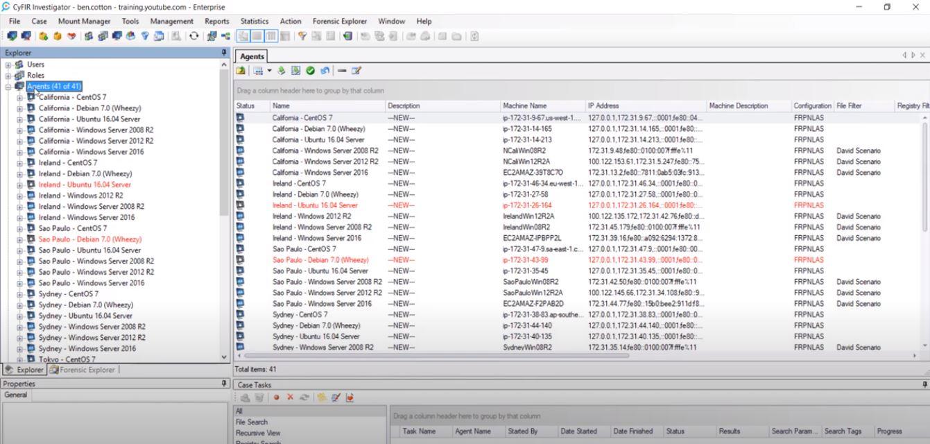 CyFIR Investigator users