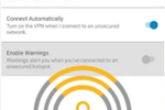 Norton WiFi Privacy VPN screenshot: Norton Secure VPN wifi security