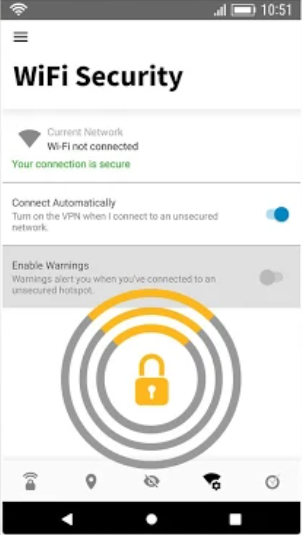 Norton Secure VPN wifi security