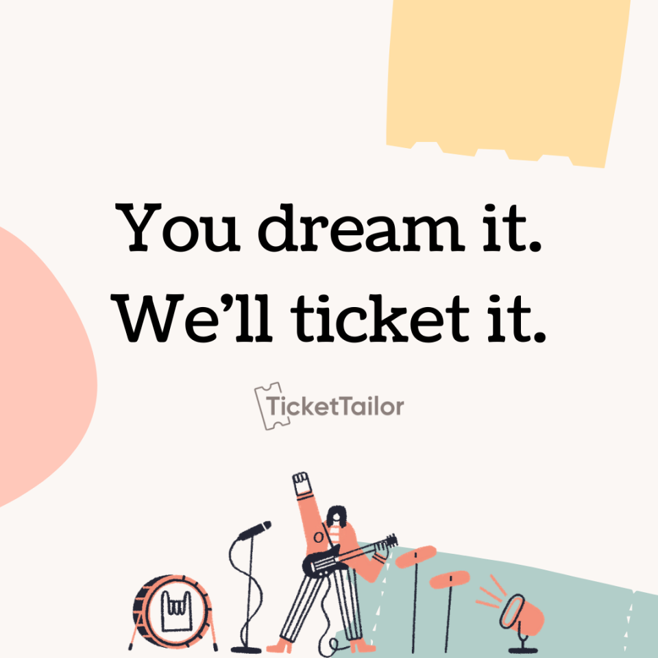 Ticket Tailor Software - 1