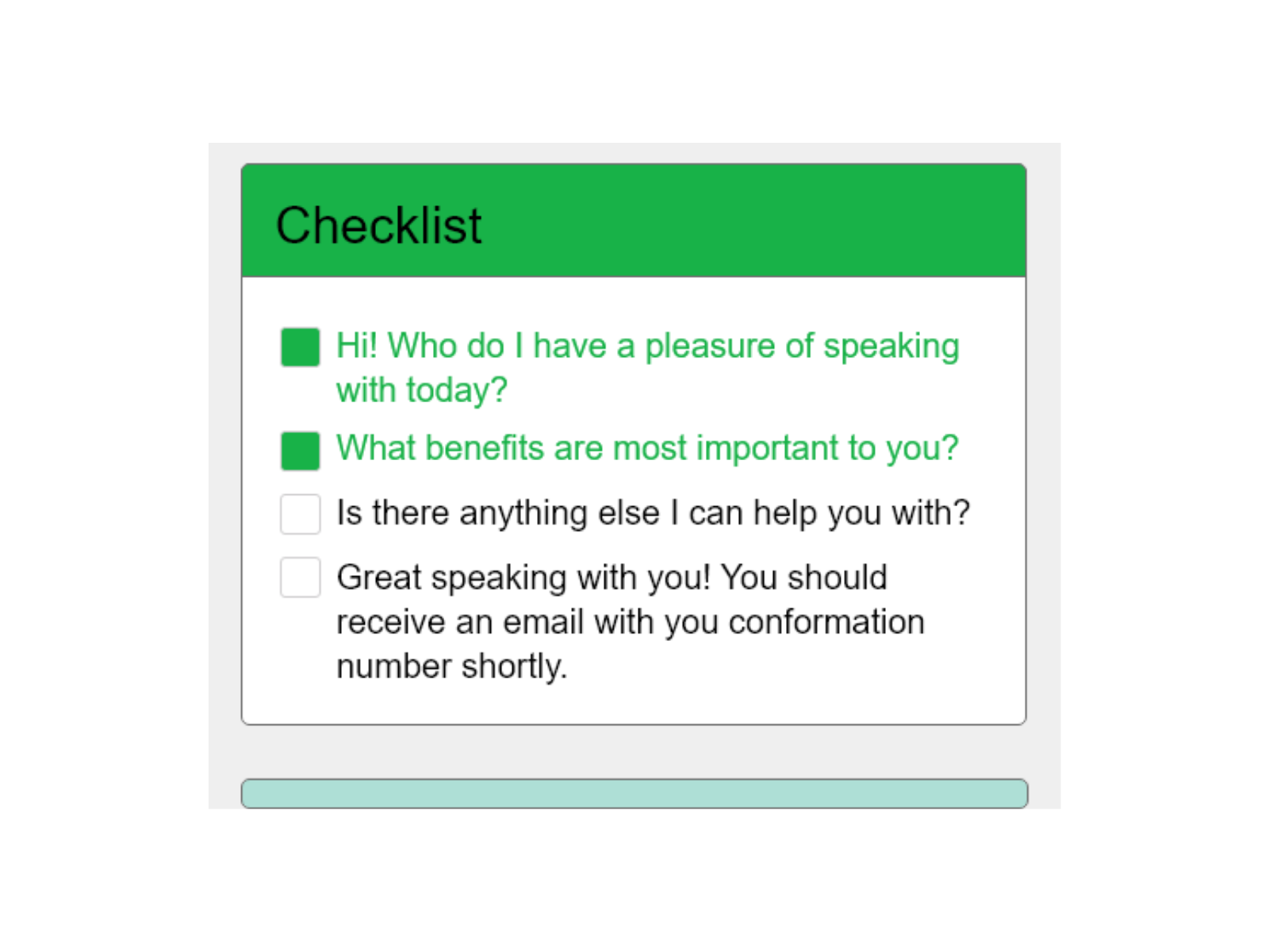 Balto Software - Smart Checklist