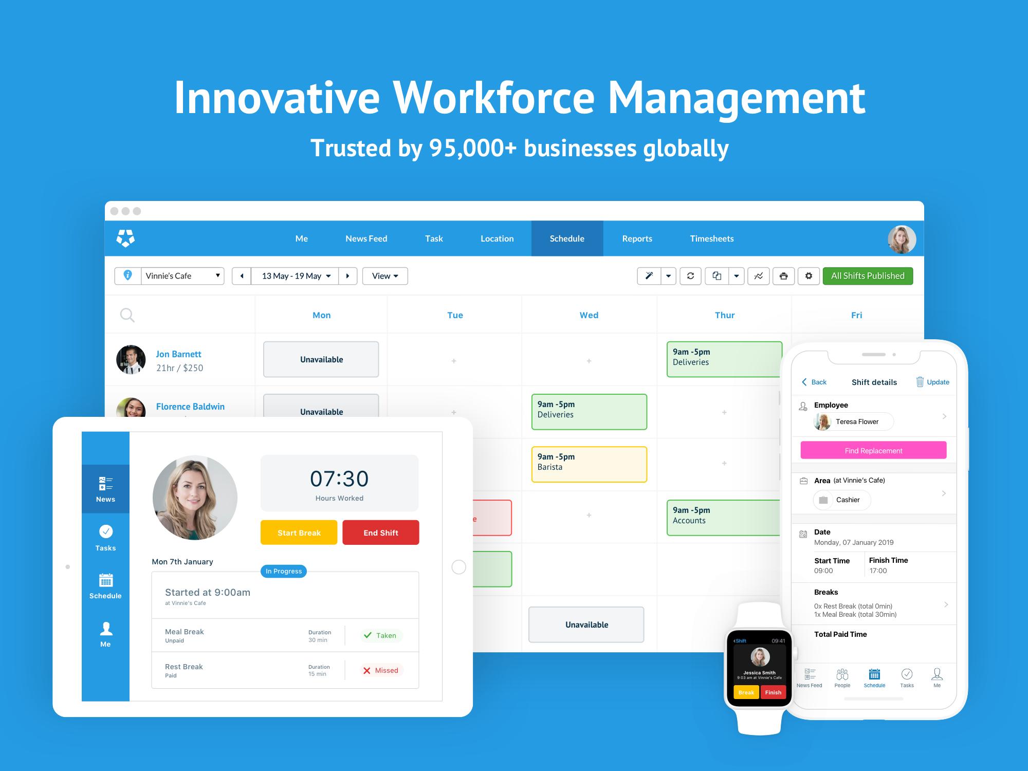 Deputy Software - Deputy workforce management