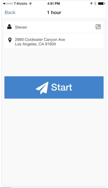 OnnaWay route optimization dashboard screenshot